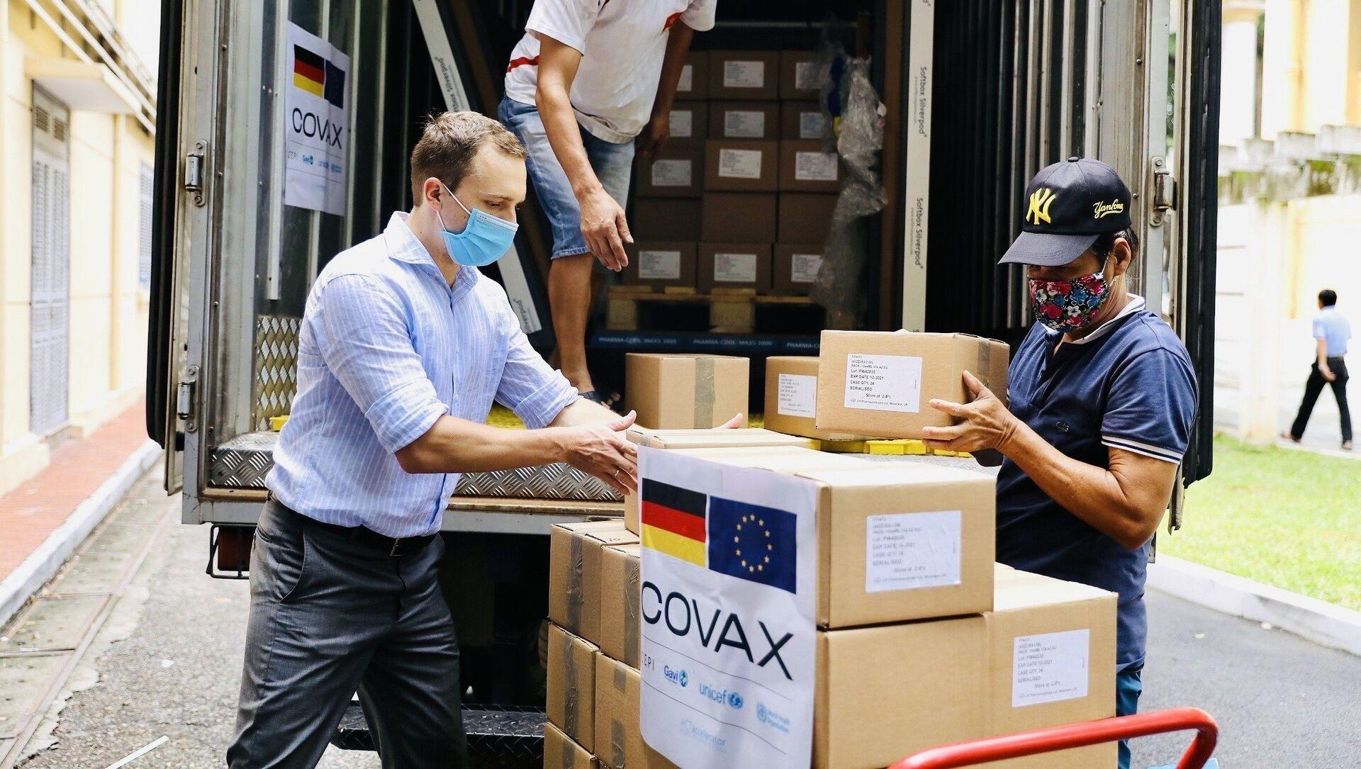 Đức hỗ trợ Việt Nam 852.480 liều vaccine qua cơ chế COVAX - Sputnik Việt Nam, 1920, 16.09.2021