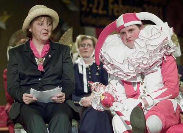 Thủ tướng Angela Merkel tại lễ hội hóa trang, Đức - Sputnik Việt Nam