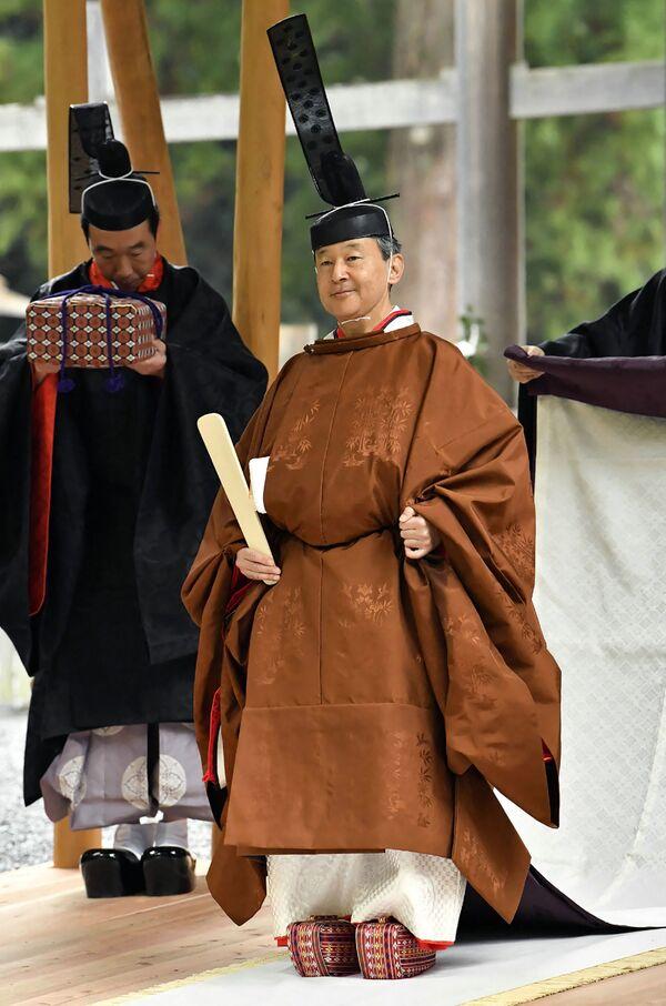 Nhật hoàng Naruhito tại đền Ise-Jingu ở Ise - Sputnik Việt Nam