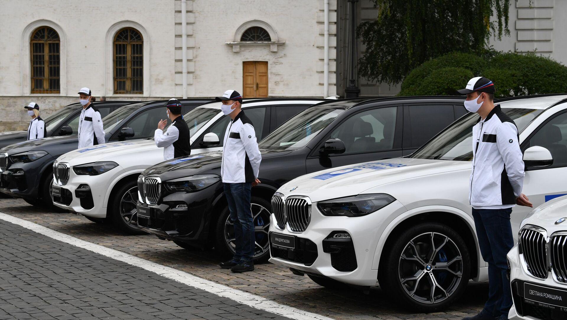 Trao chìa khóa ô tô cho những người chiến thắng Thế vận hội mùa hè 2020 ở Tokyo - Sputnik Việt Nam, 1920, 17.09.2021