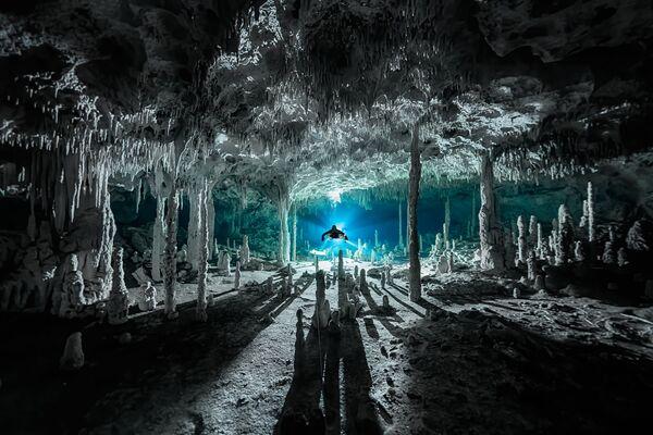 Ảnh của Martin Broen, người chiến thắng hạng mục «Nhiếp ảnh gia thám hiểm trong năm» (Exploration Photographer of the Year) tại cuộc thi Nhiếp ảnh gia đại dương năm 2021 - Sputnik Việt Nam