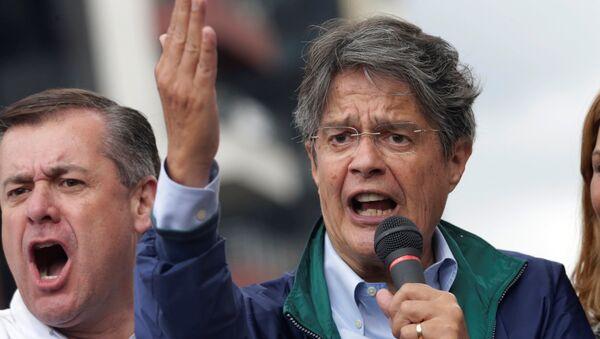 Tổng thống Ecuador Guillermo Lasso - Sputnik Việt Nam