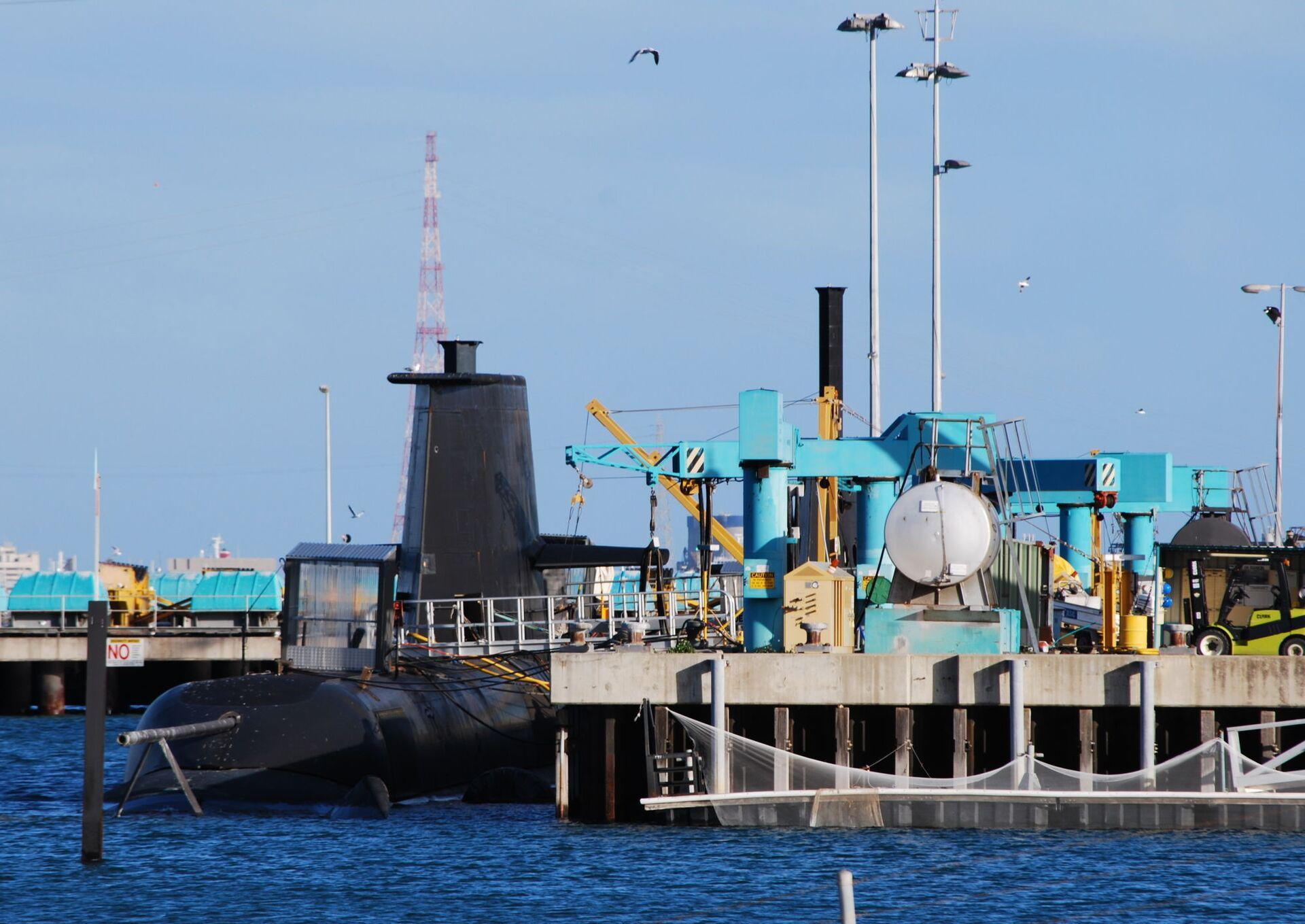 Tàu ngầm lớp Collins ở Úc - Sputnik Việt Nam, 1920, 05.10.2021