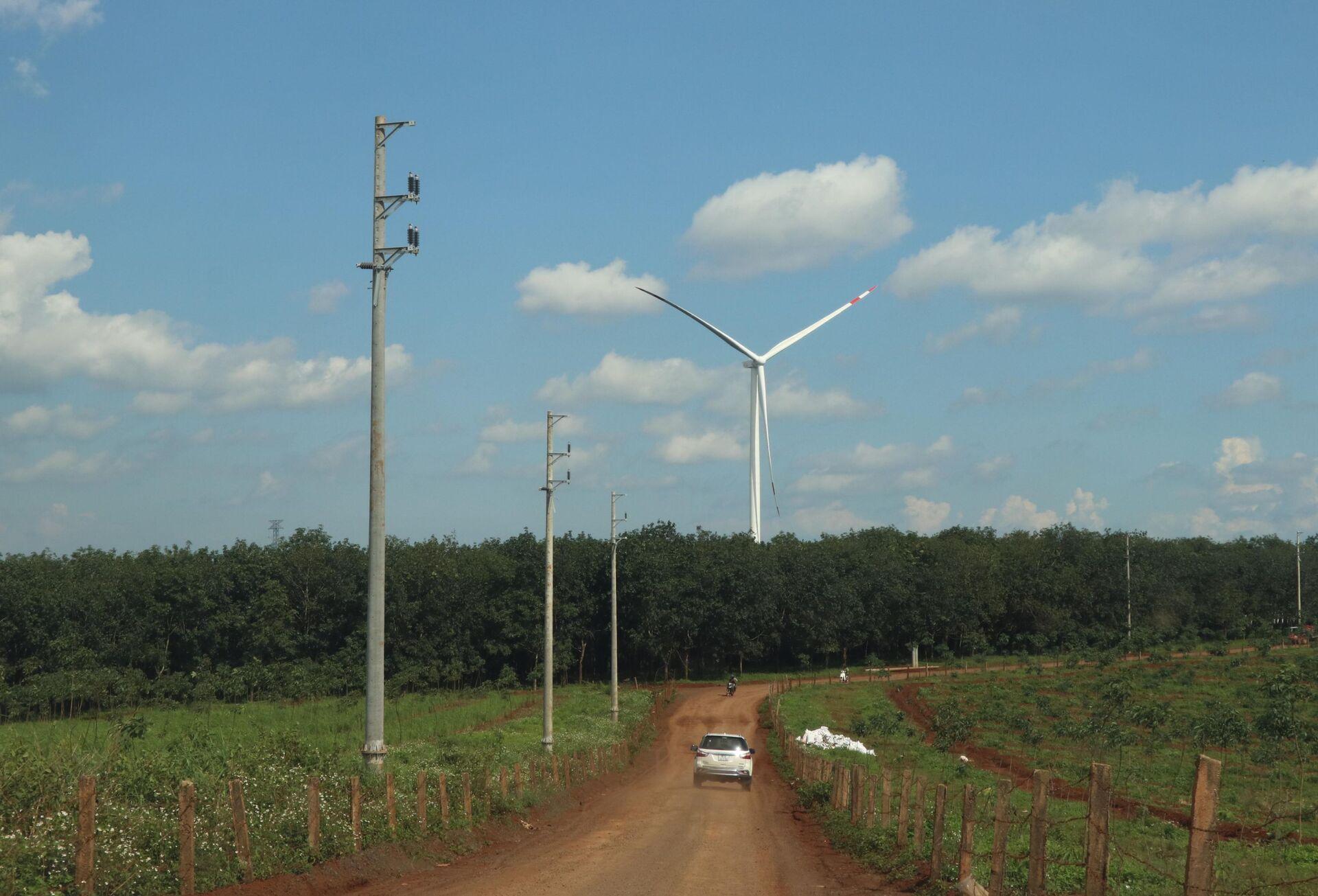 Những dự án điện gió với kỳ vọng thúc đẩy phát triển kinh tế - xã hội - du lịch cho Gia Lai - Sputnik Việt Nam, 1920, 05.10.2021