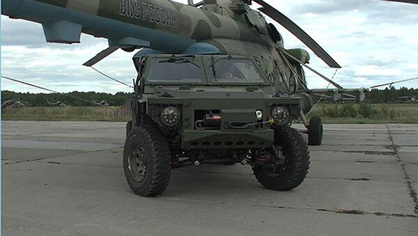 Chiếc xe dẫn động bốn bánh Sarmat-2 - Sputnik Việt Nam
