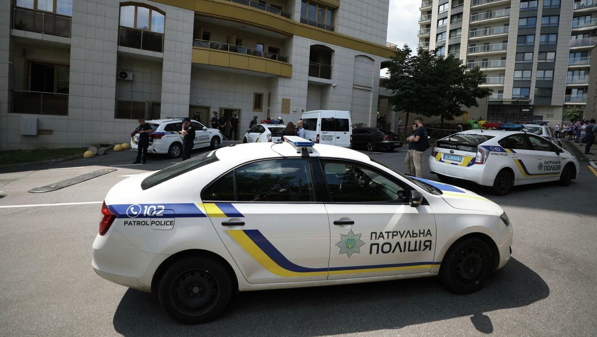Cảnh sát Ukraina tại Kiev - Sputnik Việt Nam, 1920, 22.09.2021