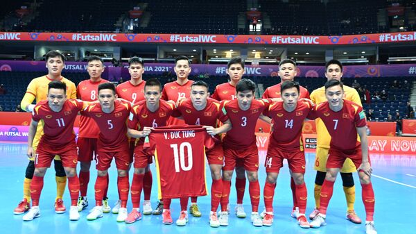 VCK Futsal World Cup 2021: Thua sát nút Á quân thế giới, tuyển Việt Nam chia tay World Cup futsal 2021 - Sputnik Việt Nam