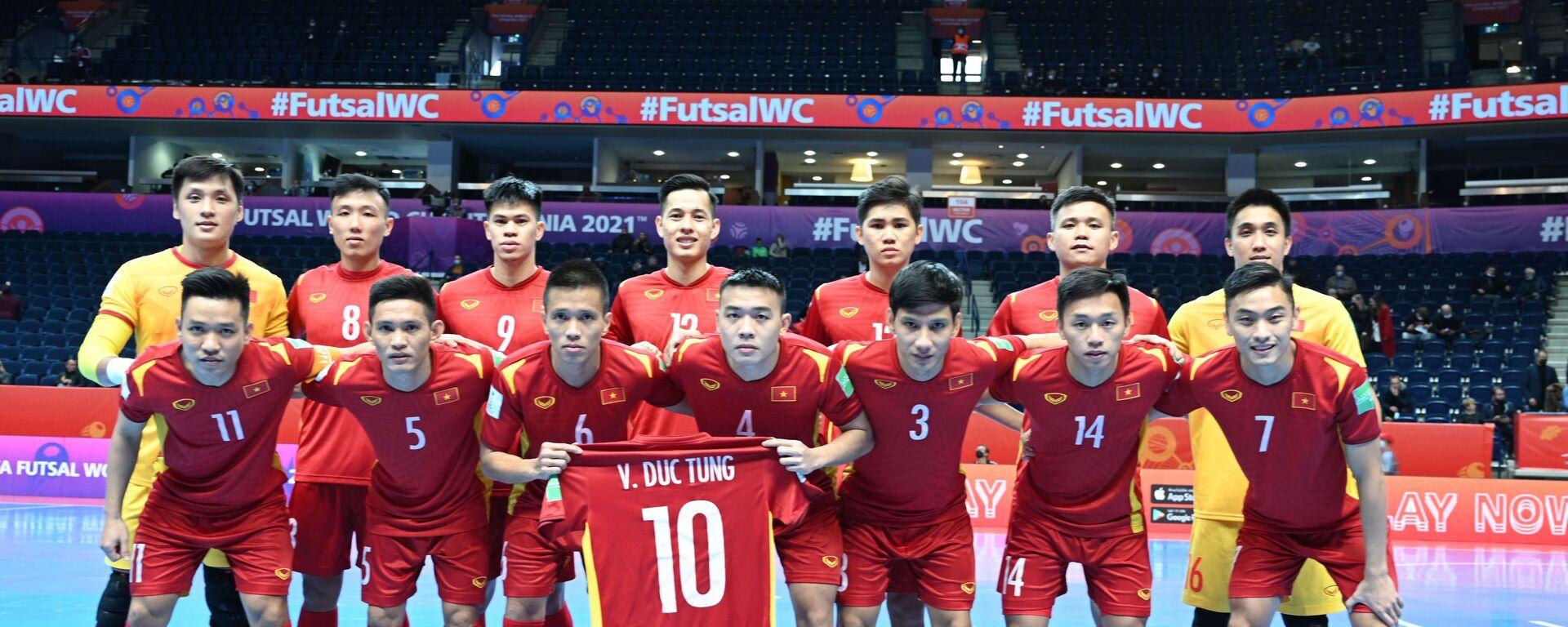 VCK Futsal World Cup 2021: Thua sát nút Á quân thế giới, tuyển Việt Nam chia tay World Cup futsal 2021 - Sputnik Việt Nam, 1920, 22.09.2021