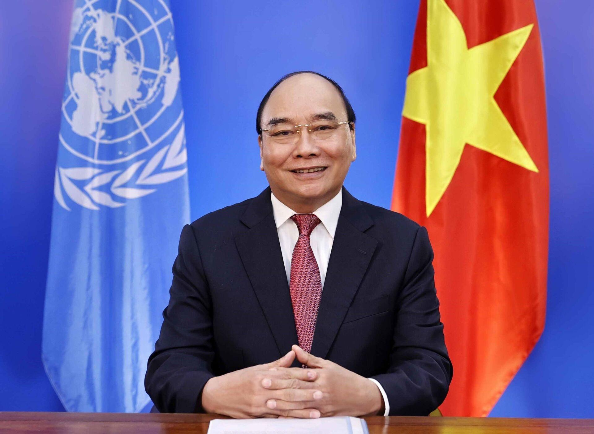Chủ tịch nước Nguyễn Xuân Phúc dự Hội nghị Thượng đỉnh của LHQ về Hệ thống lương thực - Sputnik Việt Nam, 1920, 05.10.2021