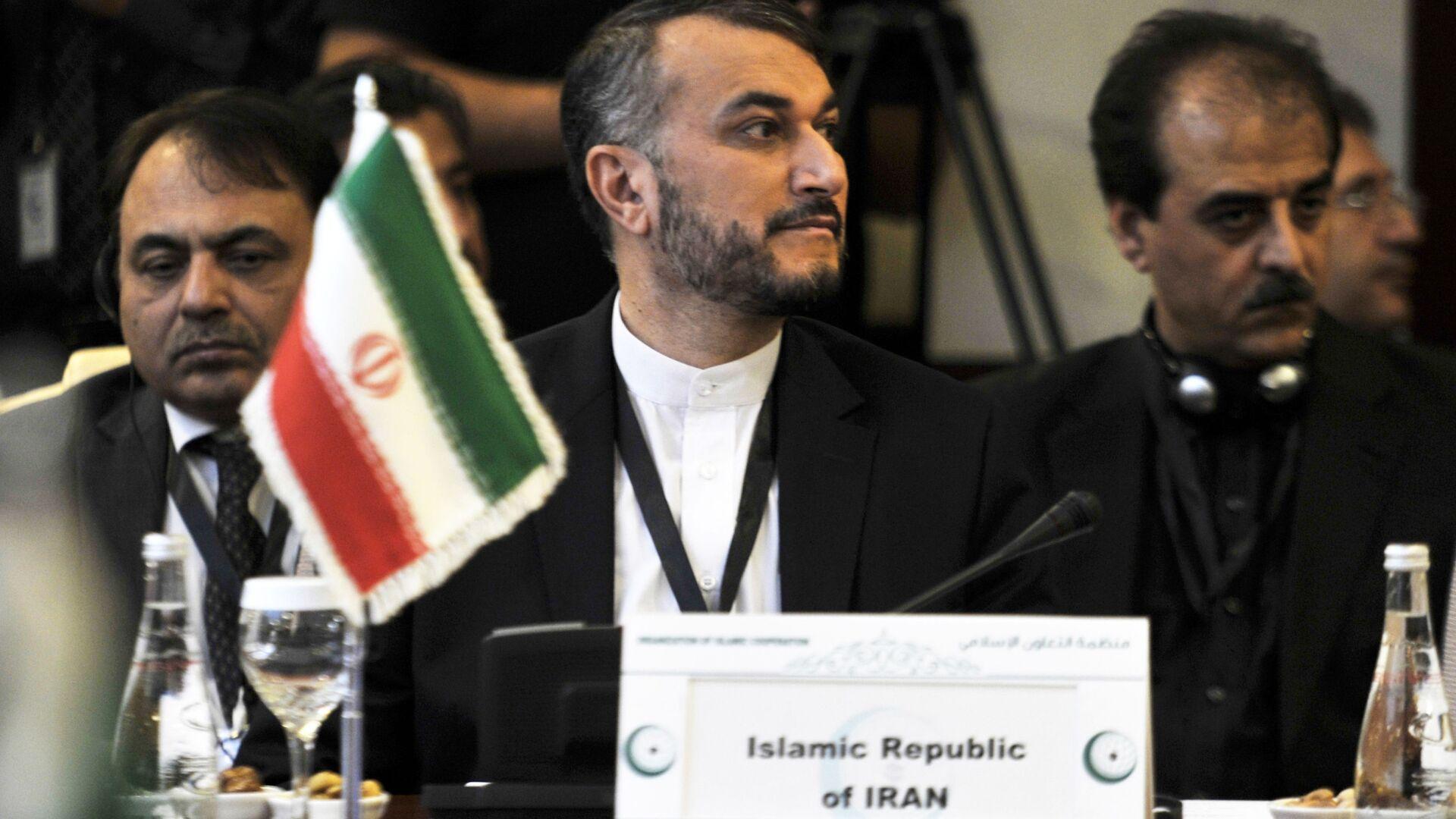 Bộ trưởng Ngoại giao Iran Hossein Amir-Abdollahian - Sputnik Việt Nam, 1920, 24.09.2021
