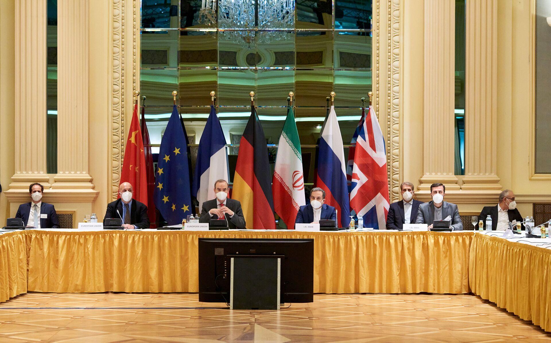 Ủy ban Thỏa thuận hạt nhân Iran họp tại Vienna, ngày 6 tháng 4 năm 2021 - Sputnik Việt Nam, 1920, 05.10.2021