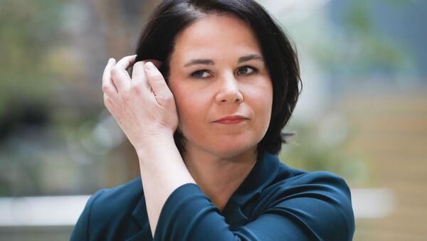 Ứng cử viên thủ tướng Đức của đảng Xanh Annalena Baerbock - Sputnik Việt Nam
