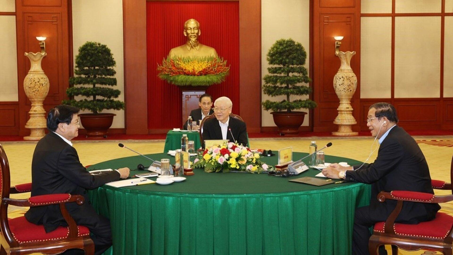 Cuộc gặp cấp cao Việt Nam - Campuchia - Lào - Sputnik Việt Nam, 1920, 27.09.2021
