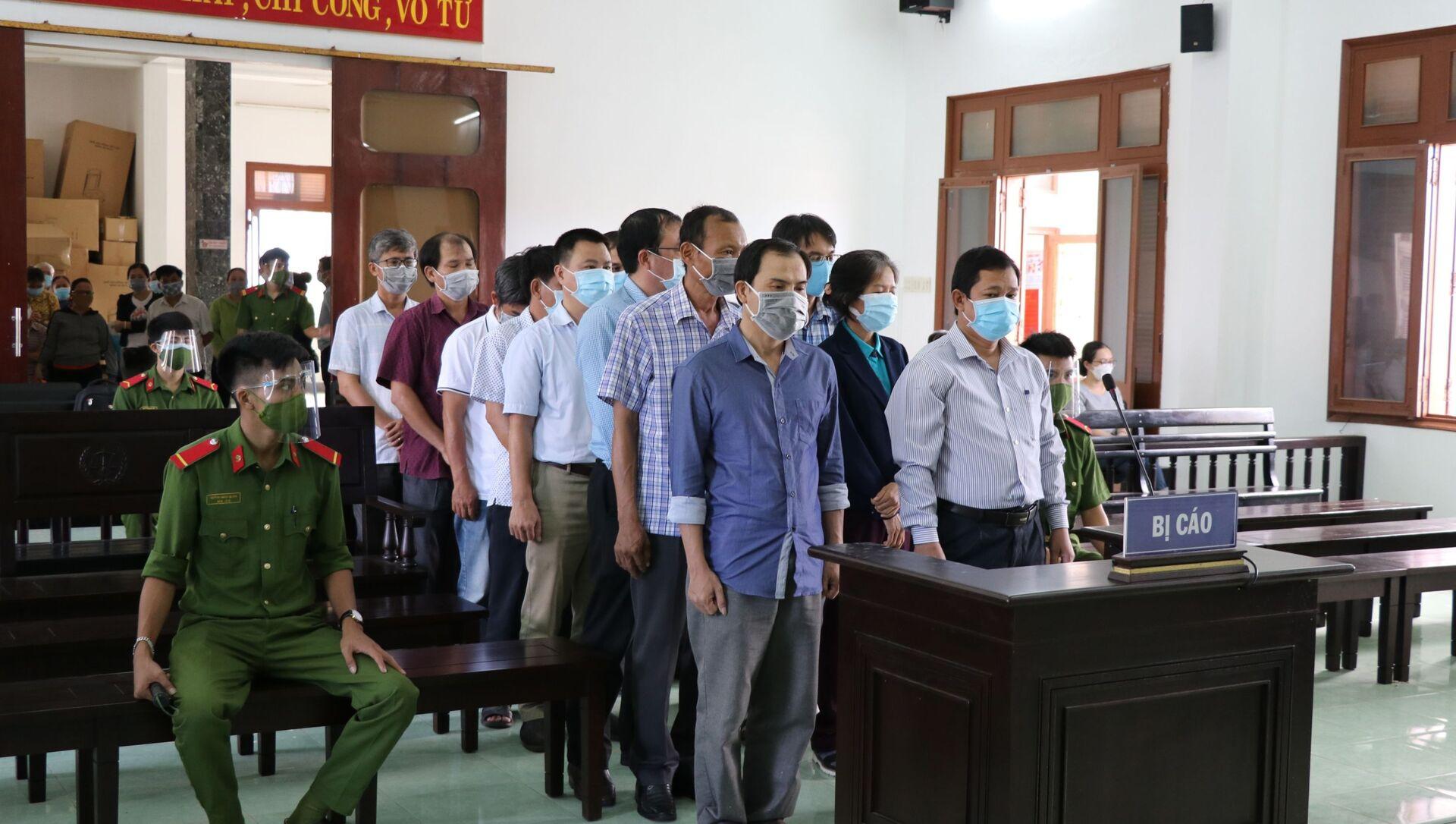 Tuyên án vụ lộ đề thi công chức ở Phú Yên - Sputnik Việt Nam, 1920, 27.09.2021