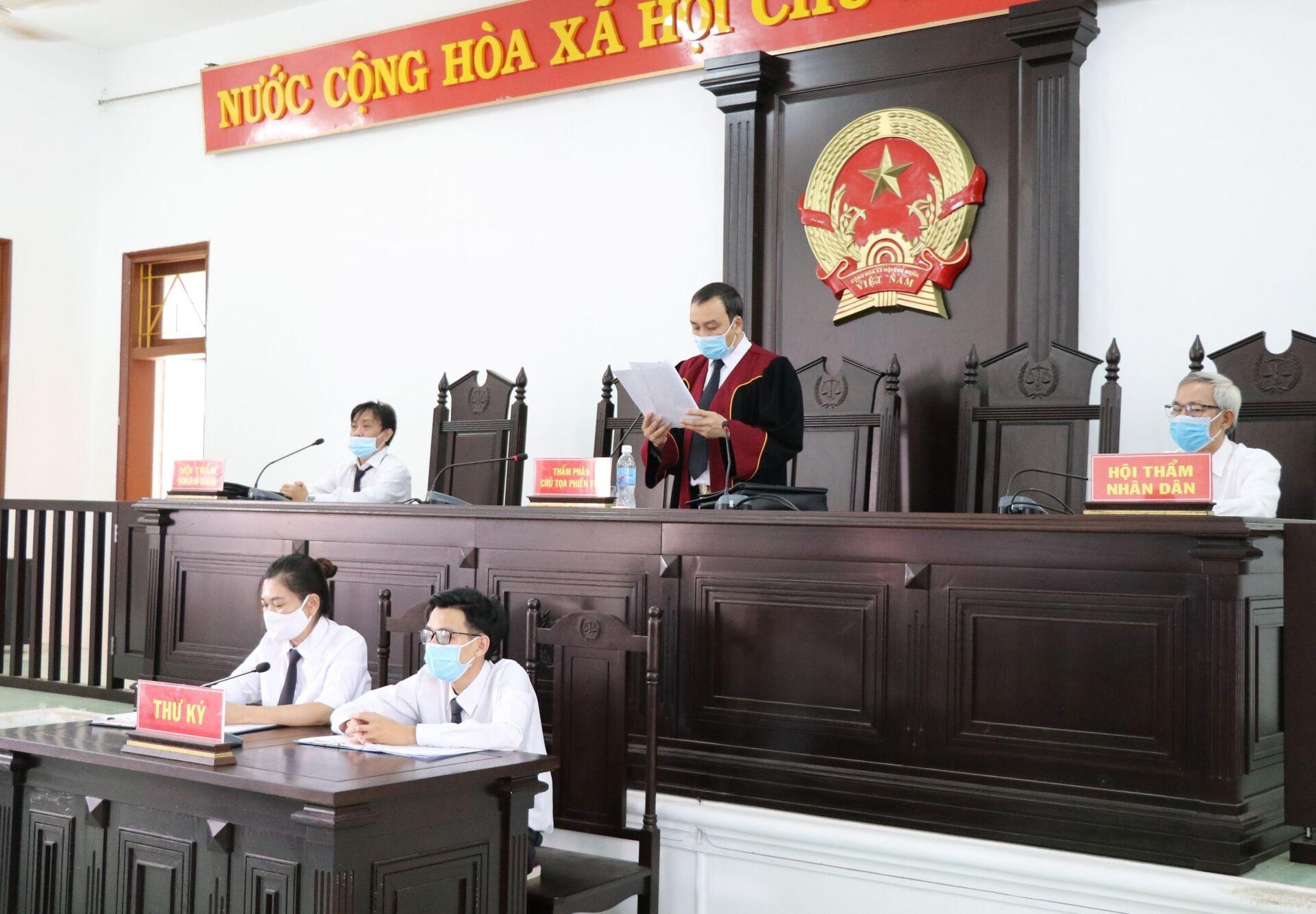 Tuyên án vụ lộ đề thi công chức ở Phú Yên - Sputnik Việt Nam, 1920, 05.10.2021