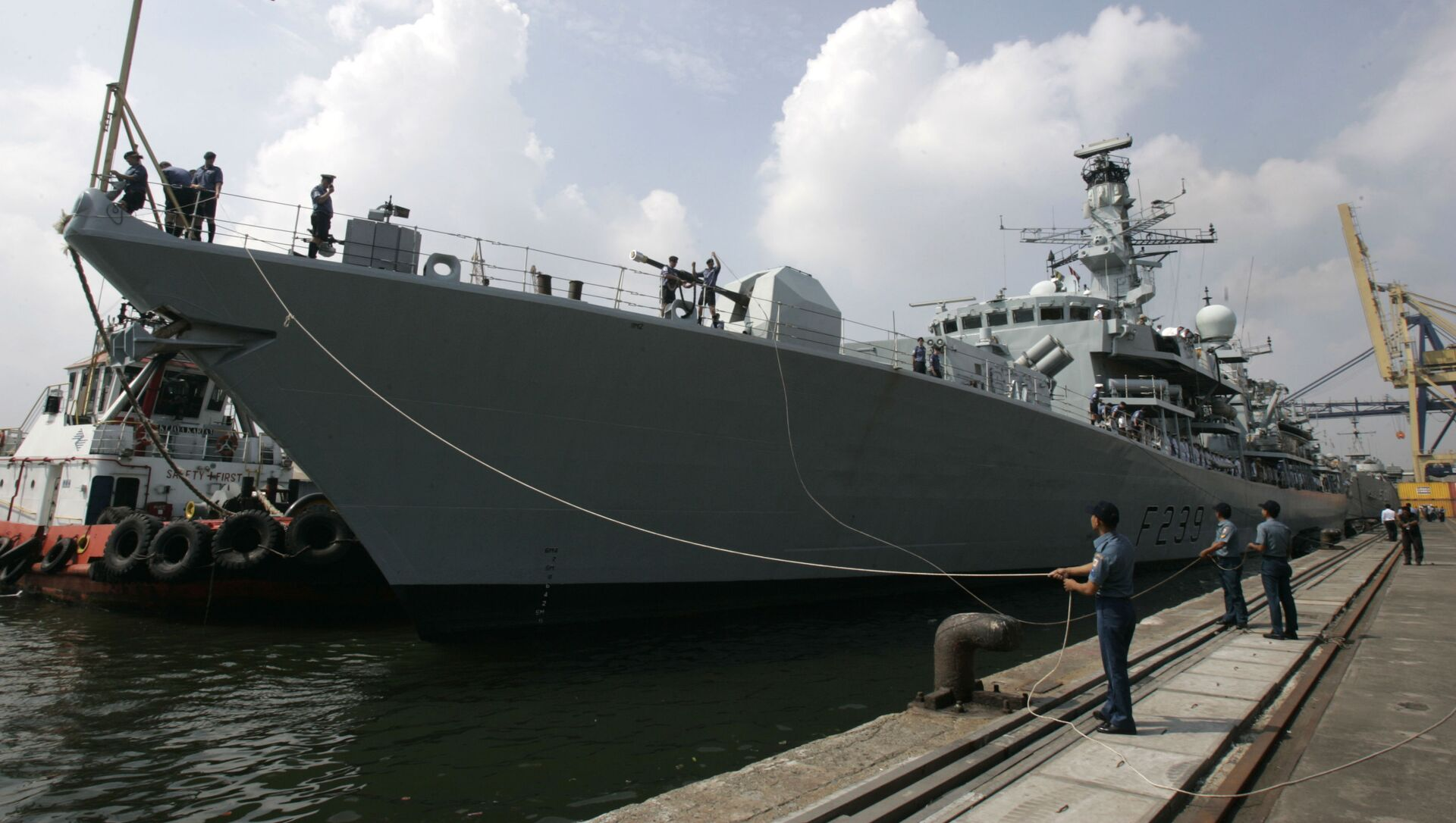HMS Richmond, tàu khu trục của Hải quân Hoàng gia Anh. - Sputnik Việt Nam, 1920, 27.09.2021