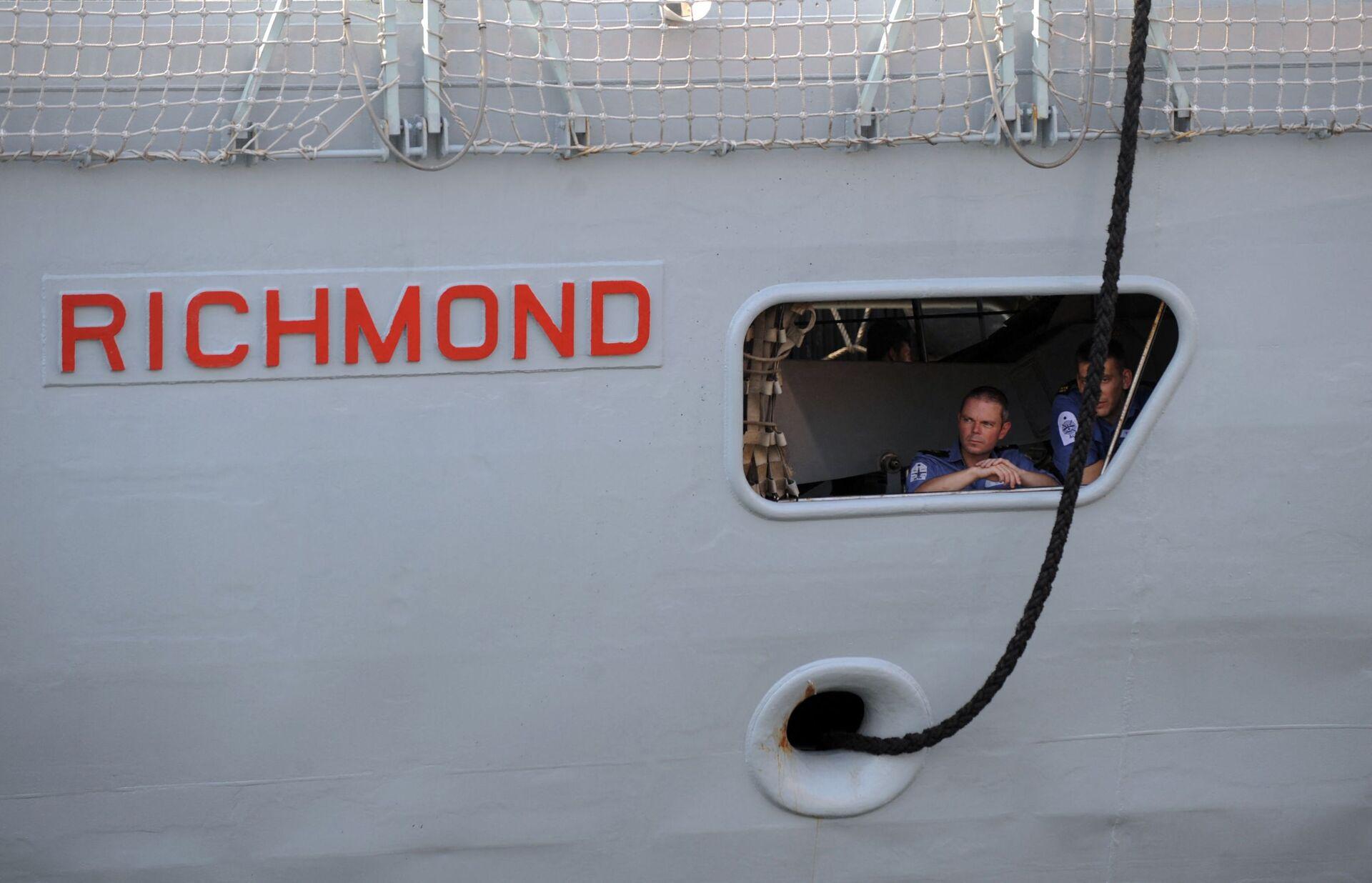 HMS Richmond, tàu khu trục của Hải quân Hoàng gia Anh. - Sputnik Việt Nam, 1920, 05.10.2021