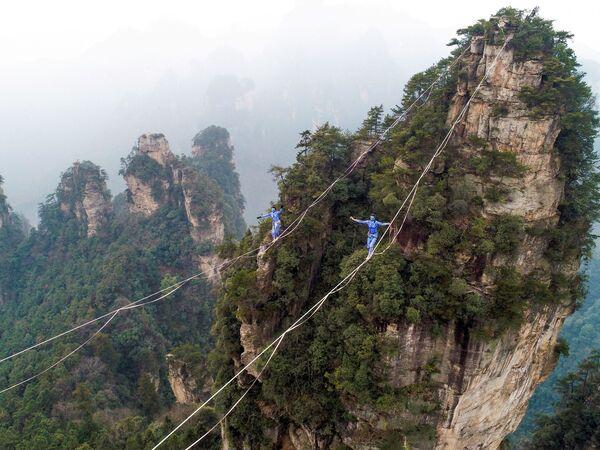 Cuộc thi trong mẫu hình đại diện Avatar ở Trương Gia Giới thuộc tỉnh Hồ Nam, Trung Quốc - Sputnik Việt Nam
