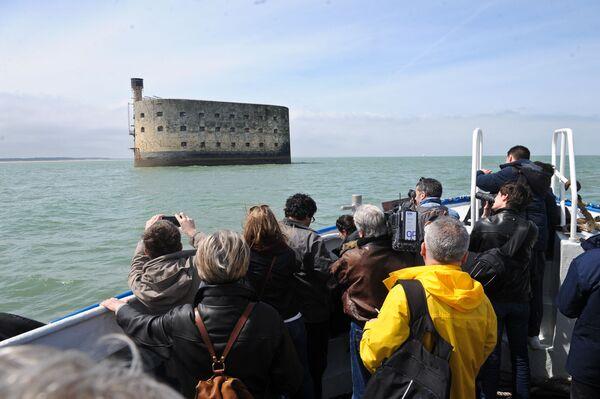 Pháo đài Boyard bên bờ biển phía tây nước Pháp - Sputnik Việt Nam