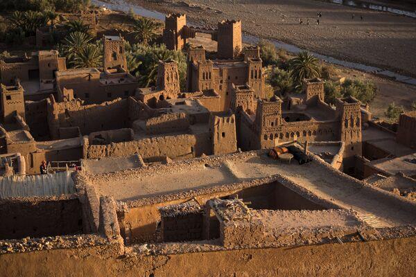 Cảnh pháo đài cổ Ait-Ben-Haddou, Maroc - Sputnik Việt Nam