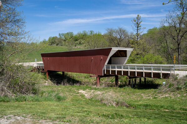 Cầu Cedar ở quận Madison, Hoa Kỳ - Sputnik Việt Nam