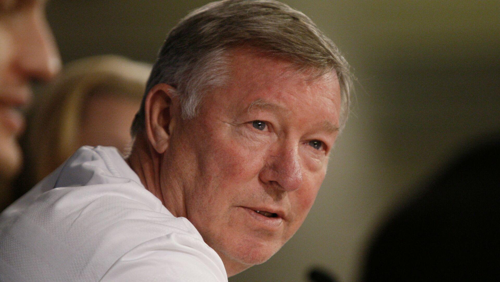 Cựu huấn luyện viên trưởng Manchester United Alex Ferguson - Sputnik Việt Nam, 1920, 27.09.2021
