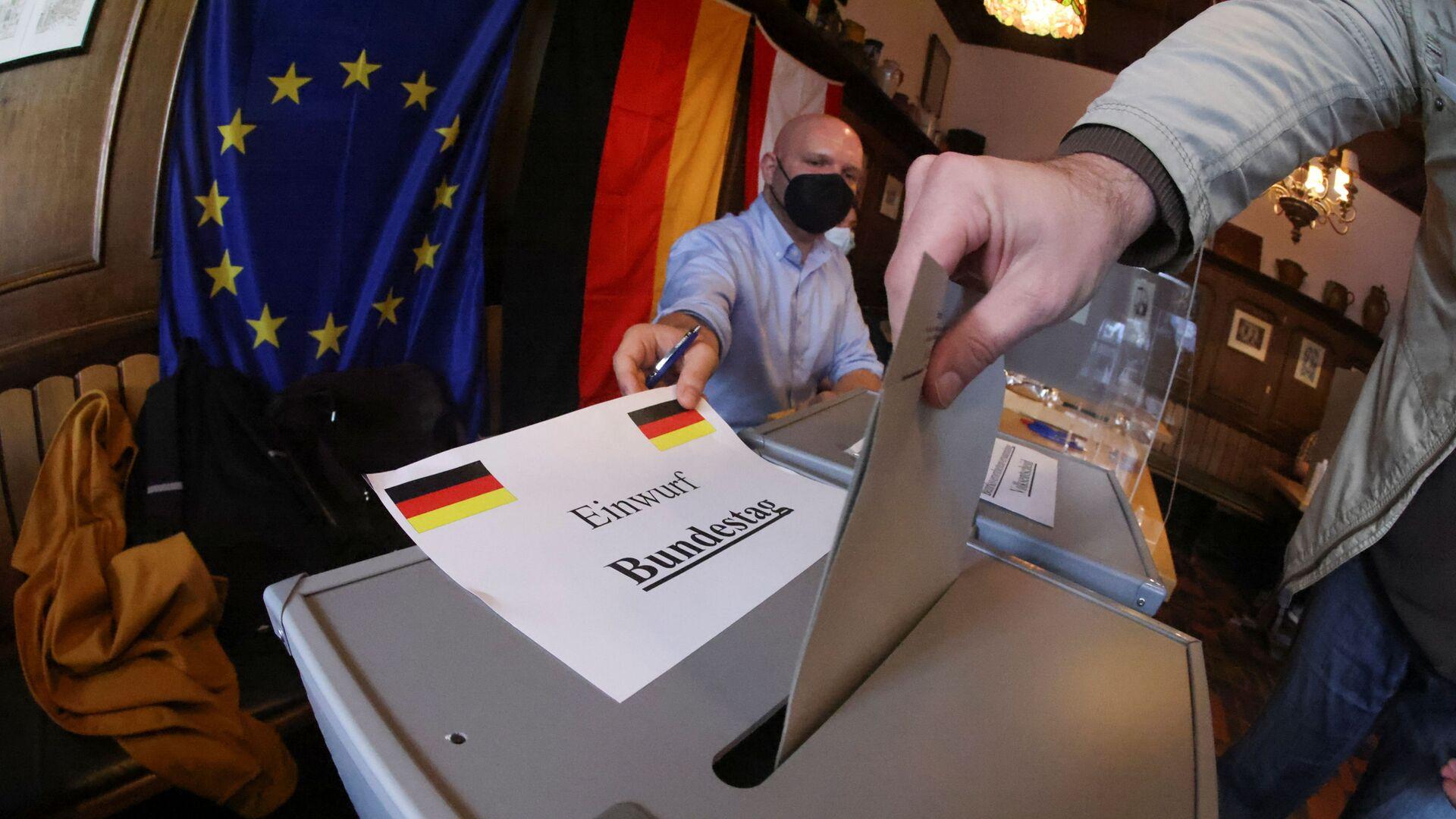 Bỏ phiếu trong cuộc bầu cử quốc hội ở Berlin, Đức - Sputnik Việt Nam, 1920, 28.09.2021