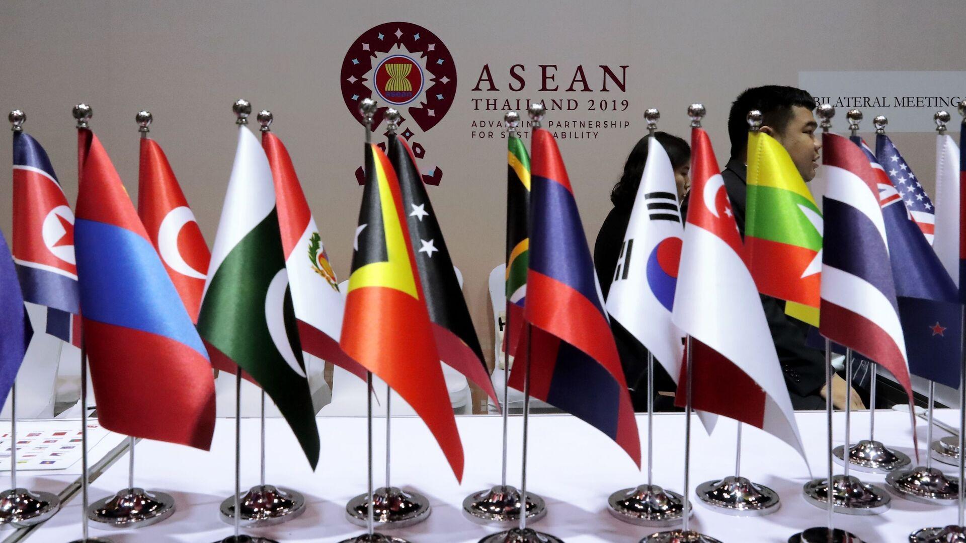 Cờ các nước ASEAN - Sputnik Việt Nam, 1920, 06.10.2021