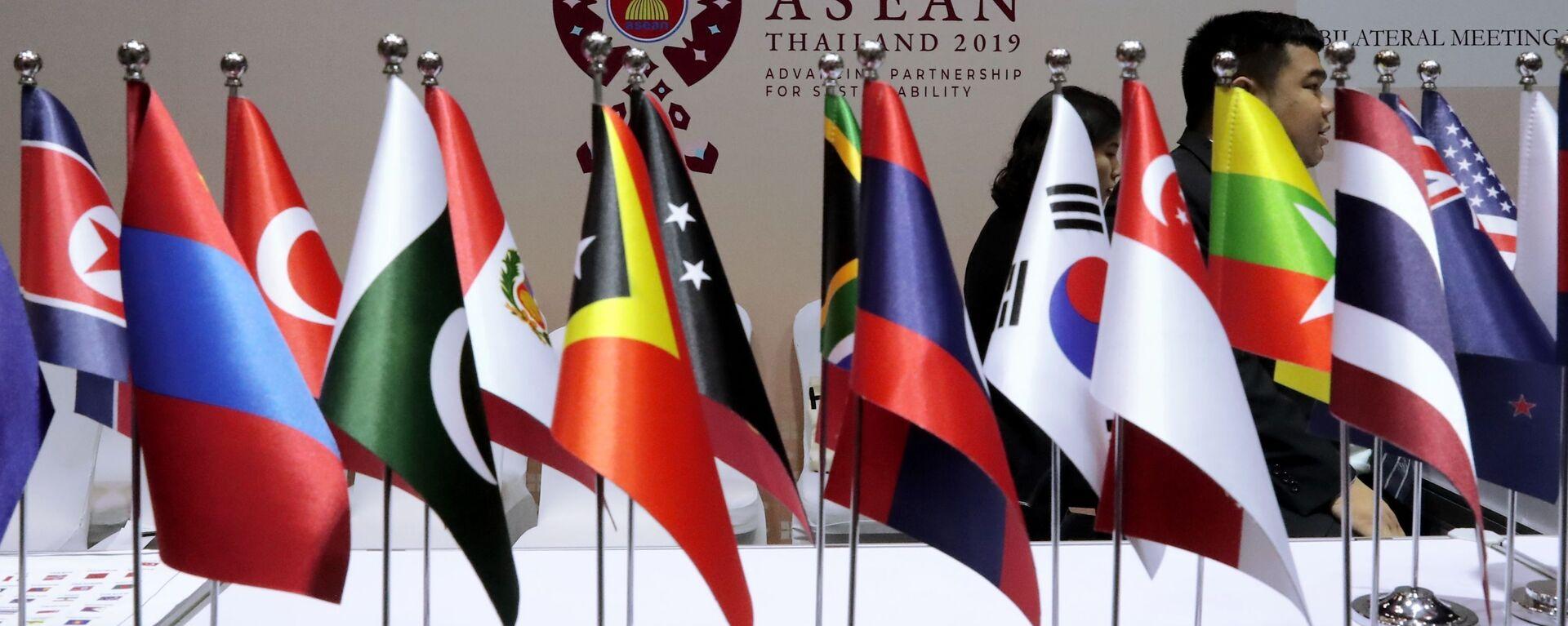 Cờ các nước ASEAN - Sputnik Việt Nam, 1920, 07.10.2021