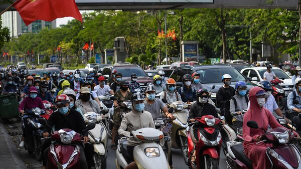 Đường phố Hà Nội. - Sputnik Việt Nam