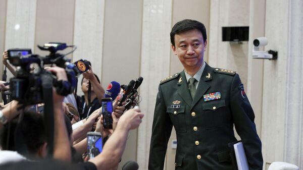 Đại diện chính thức của Bộ Quốc phòng Cộng hòa Nhân dân Trung Hoa Wu Qian - Sputnik Việt Nam