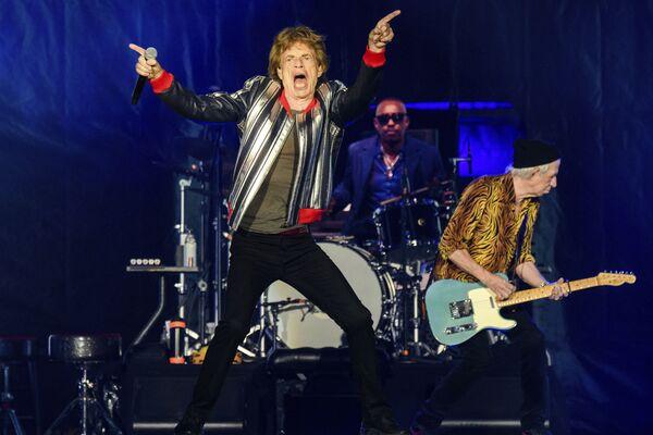 Ban nhạc The Rolling Stones trong chuyến lưu diễn «No Filter» tại The Dome at America Center ở St. Louis - Sputnik Việt Nam