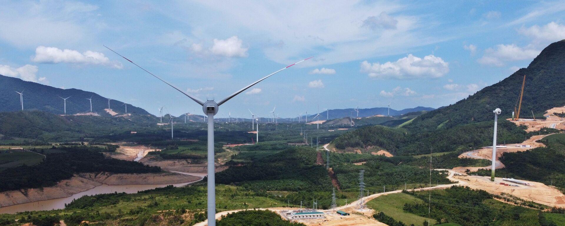 Cánh đồng điện gió ở huyện Hướng Hóa (Quảng Trị). - Sputnik Việt Nam, 1920, 01.10.2021