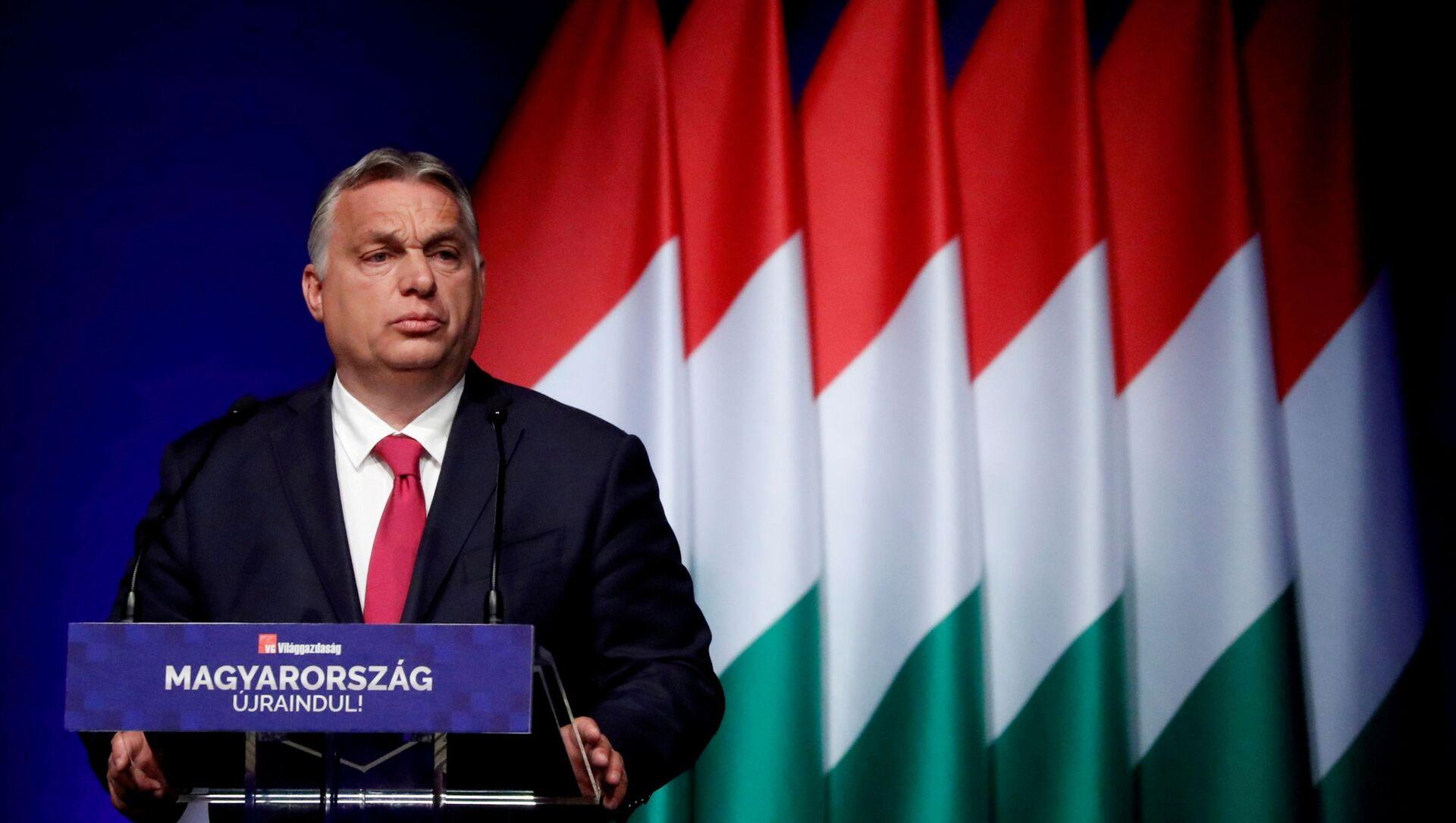 Thủ tướng Hungary Viktor Orban - Sputnik Việt Nam, 1920, 01.10.2021
