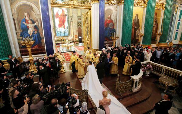 Lễ cưới hoàng gia của hậu duệ nhà Romanov diễn ra ở St.Petersburg - Sputnik Việt Nam