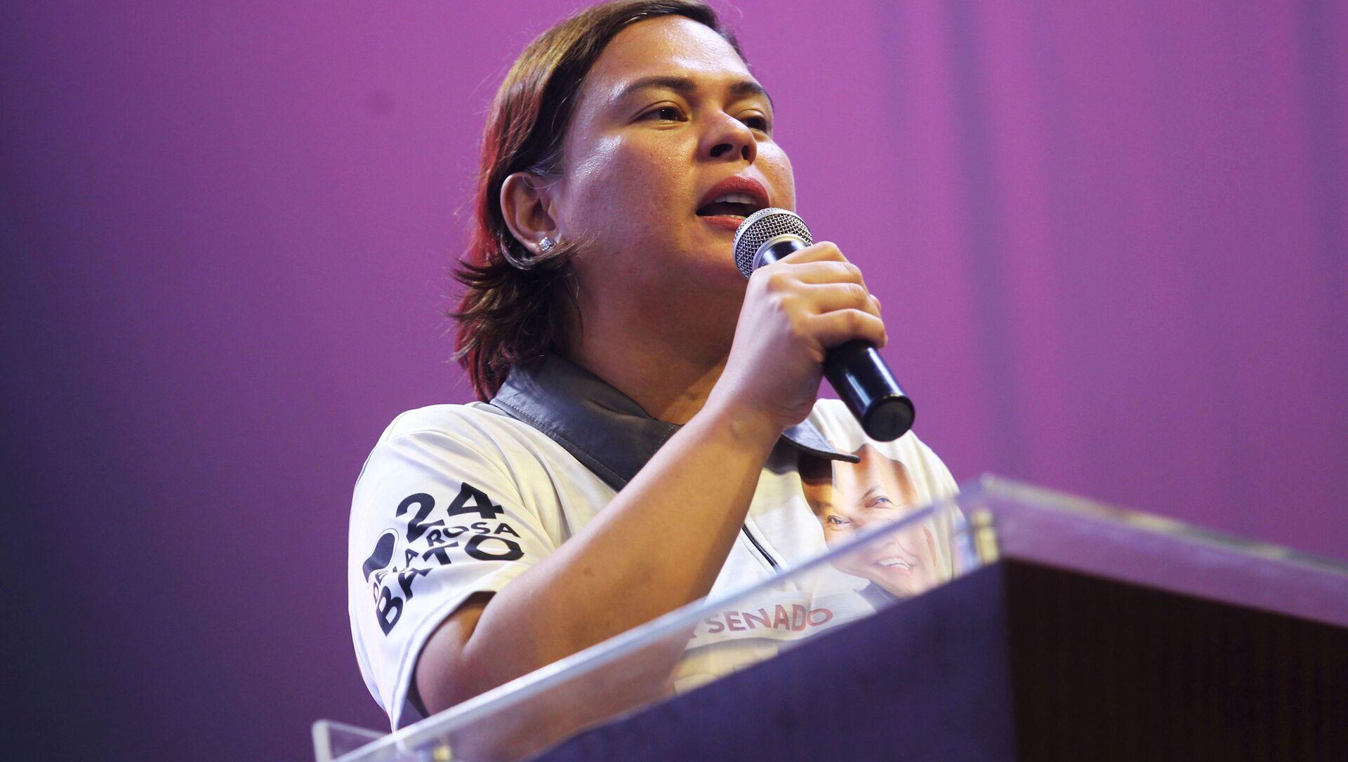 Chính trị gia người Philippines Sarah Duterte - Sputnik Việt Nam, 1920, 03.10.2021