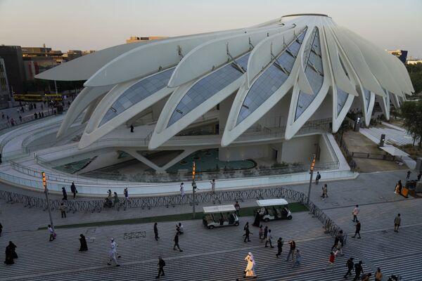 Gian hàng của Các Tiểu vương quốc Ả Rập Thống nhất tại Triển lãm Toàn thế giới World Expo 2020 ở Dubai, Các Tiểu vương quốc Ả Rập Thống nhất - Sputnik Việt Nam