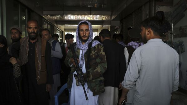 Các chiến binh Taliban* ở Kabul, Afghanistan - Sputnik Việt Nam