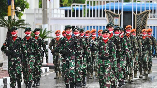 Binh lính Indonesia - Sputnik Việt Nam