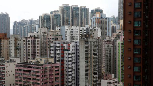 Жилые многоквартирные дома в Гонконге, Китай - Sputnik Việt Nam