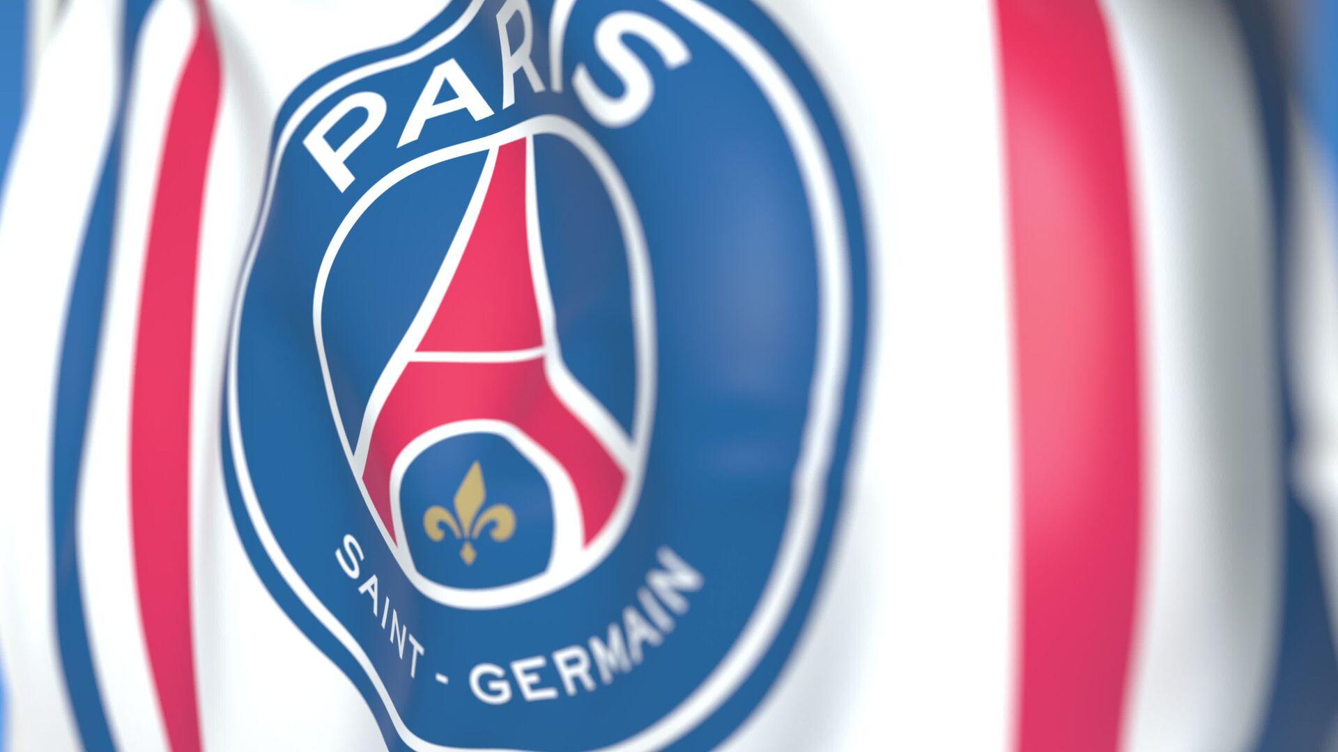 Cờ biểu tượng của câu lạc bộ bóng đá Paris-Saint Germain - Sputnik Việt Nam, 1920, 07.10.2021