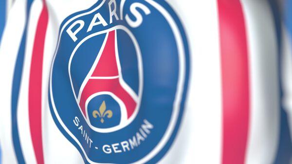 Флаг с изображением эмблемы футбольного клуба Paris-Saint Germain - Sputnik Việt Nam
