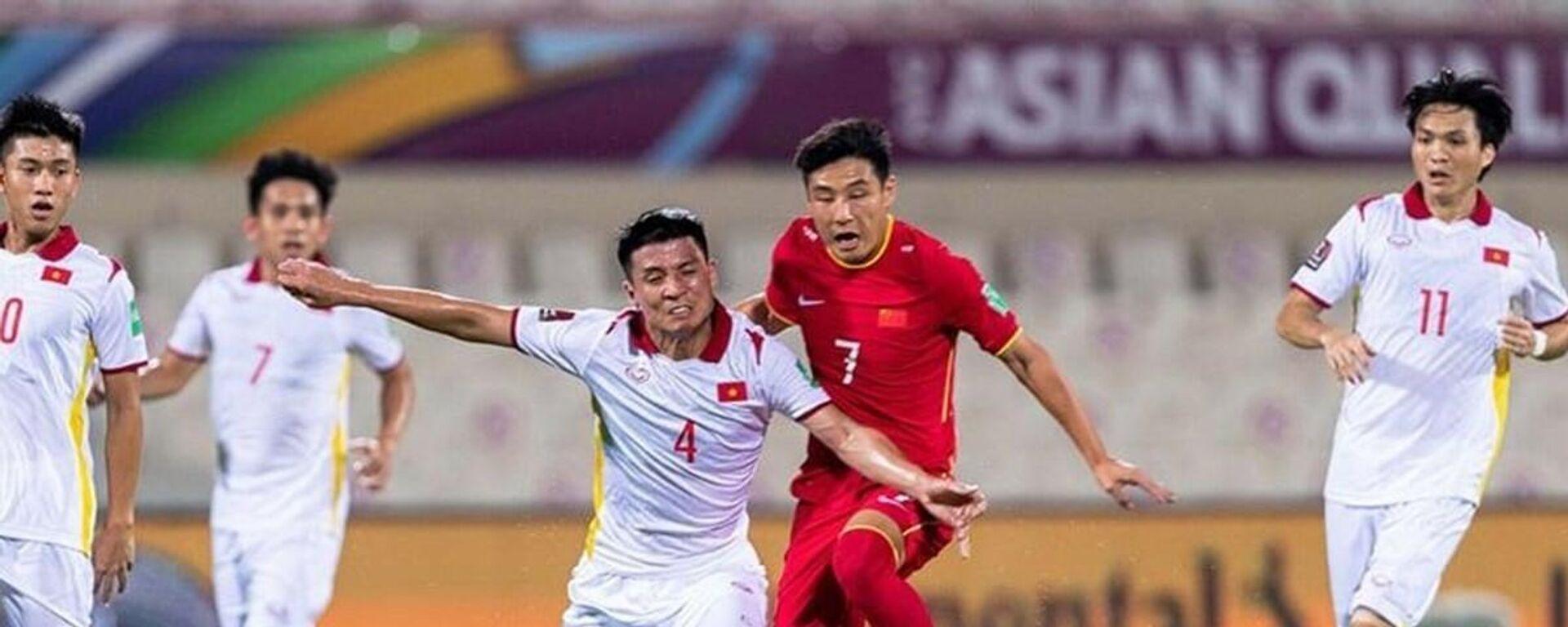 Tuyển Việt Nam đánh rơi điểm số ở những giây cuối cùng của trận đấu.  - Sputnik Việt Nam, 1920, 08.10.2021