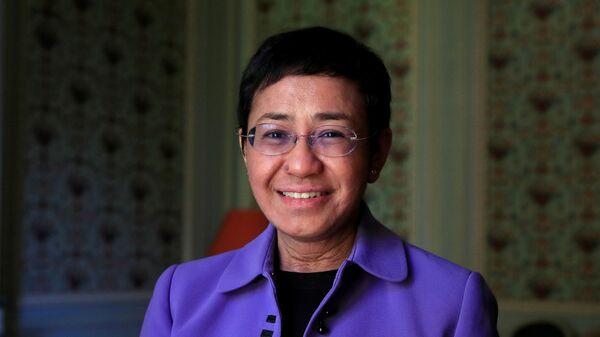 Филиппино-американская журналистка и писательница Мария Ресса - Sputnik Việt Nam