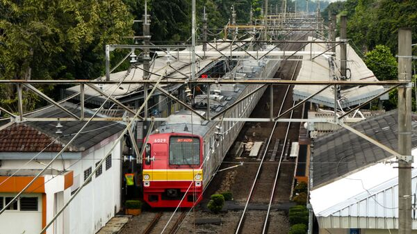 Ga xe lửa ở Jakarta - Sputnik Việt Nam
