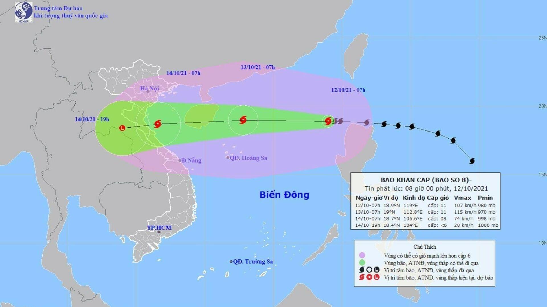 Cơn bão số 8 (Kompasu) - Sputnik Việt Nam, 1920, 12.10.2021