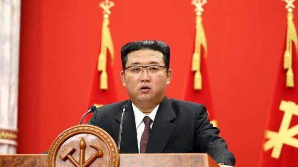 Лидер КНДР Ким Чен Ын - Sputnik Việt Nam