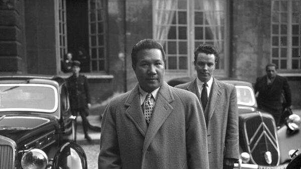 Бывший император Вьетнама Бао Дай, 1948 год - Sputnik Việt Nam