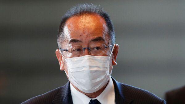 Японский министр по делам северных территорий Косабуро Нисимэ - Sputnik Việt Nam