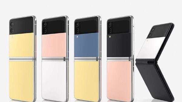 Смартфоны Samsung Galaxy Z Flip 3 Bespoke Edition - Sputnik Việt Nam